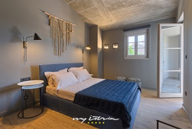 One of the bedrooms with double bed in Villa Sivati