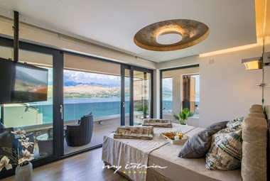Just imagine waking up to this view! Master bedroom in Villa Fenix