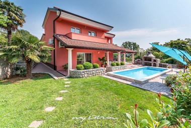 Villa Sole with private pool in Opatija