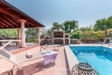 Enjoy the mediterranean setting of our villa in Kvarner