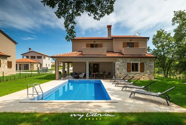 Villa Brih III with private pool near Motovun