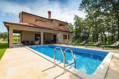 Villa Brih III with private pool in Central Istria