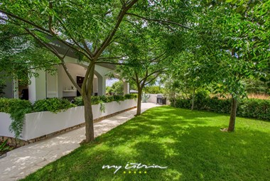 Lovely surrounding of our villa with pool in Zadar