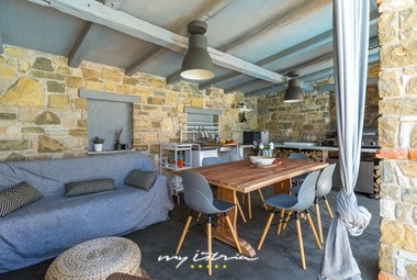 Beautiful terrace and dining area near the pool