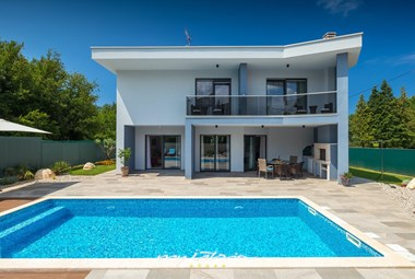 Wonderful modern Villa Blue Pearl with private pool in Porec