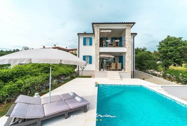 Romantic luxury villa Marija Klara in Labin-Rabac