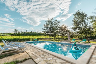 Wonderful private pool surrounded by vineyards - Villa Kanedolo