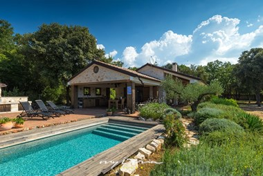 Amazing eco villa with private pool near Rovinj