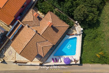 A view from above at Villa Family