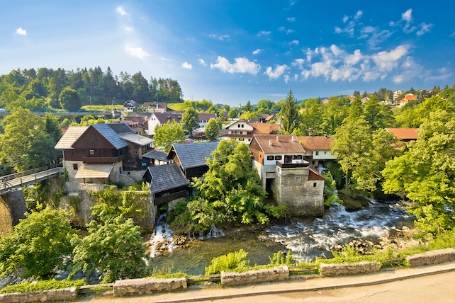 view-from-above-of-Rastoke-village-with-old-houses-mills-and-the-river