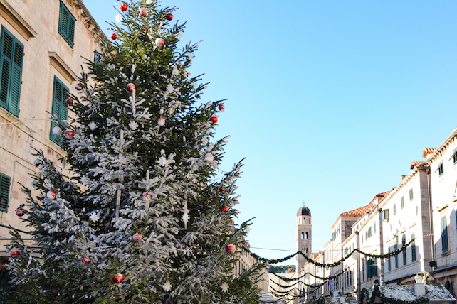 a-decorated-christmas-tree-on-one-of-the-main-streets-in-dubrovnik