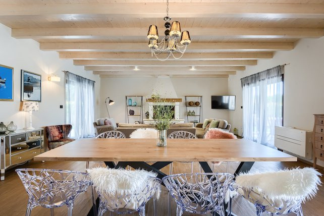 table-and-living-room-with-many-details-at-villa-campi-in-istria