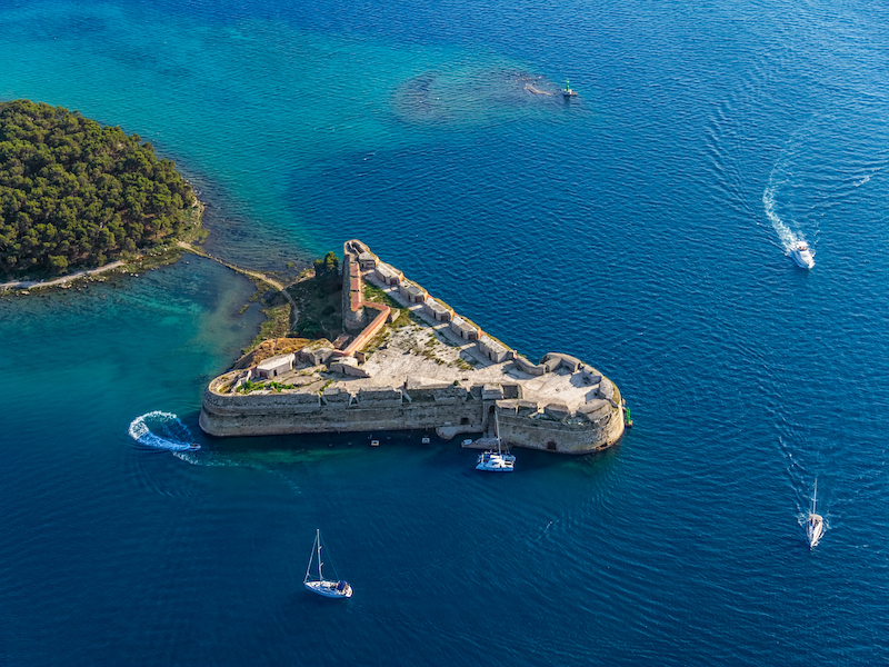 Newly opened fortress St. Nicholas is on the list of UNESCO World Heritage Site