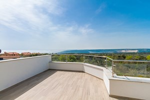 Villa White Gem Terrace with Sea view in Istria