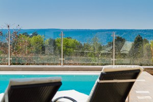 Villa White Gem Pool with seaview