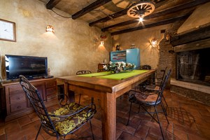 Villa Olea Histria Well equipped tavern with dining area in villa with pool
